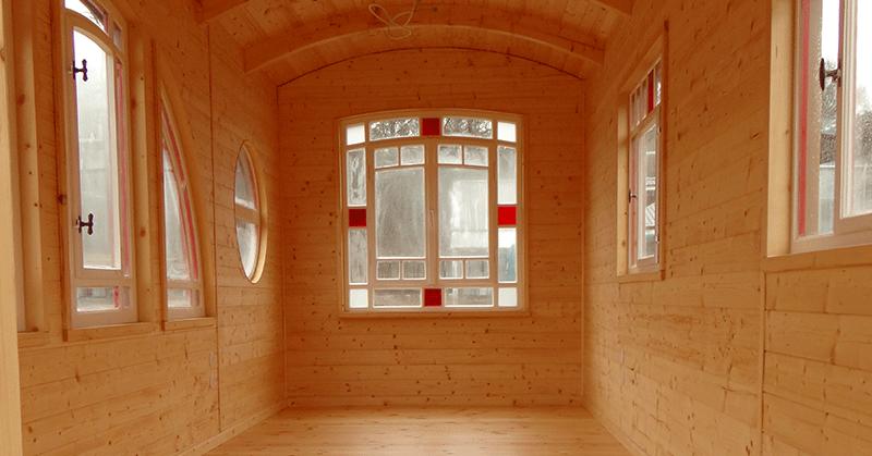Tischlerei Bauwagen - Innenbereich